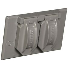 Hubbell-Bell 5180-5 Weatherproof Cover with 4-9/16-Inch X 2-13/16-Inch Gang