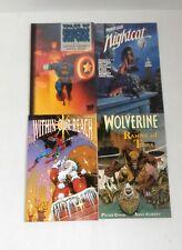 Marvel Prestige Format Lot WOLVERINE, JOE JUSKO, PETER DAVID, 4 Comics  r