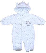 BabyPrem Baby Girls Boys Clothes Premature Prem Tiny Warm Pramsuit Snowsuit Coat White 3 - 5lb