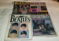 (4) Vintage Beatles Magazines (Pre-Owned)