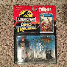 1993 KENNER JURASSIC PARK SERIES 2 DINO TRACKERS SGT T-REX TURNER MOC FIGURE