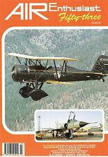 AIR ENTHUSIAST #53 SPRING 94: DH 91 ALBATROSS/ SAPAIN'S MIRAGE IIIs/ FOKKER V