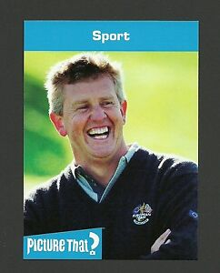 Colin Montgomerie Golf Ryder Cup Celebrity Collector Card