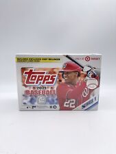 Topps 2021 Series 1 Baseball Trading Cards Relic Box