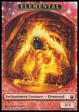 Elemental Token 10x - Red - Staples Art - MTG Magic NM