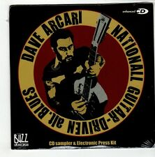 (GO487) Dave Arcari, Sampler & EPK - 2008 Sealed DJ CD