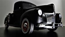 Ford 1 Pickup Truck A 1939 Vintage Wagon Car T Model 24 F150 Carousel Black 18