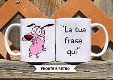 Tazza ceramica LEONE CANE FIFONE 1 FRASE PERSONALIZZATA  ceramic mug