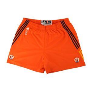Connecticut Sun Adidas Authentic On-Court Team Issued WNBA Orange Shorts Women's