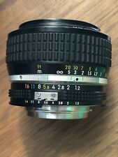 Nikon NIKKOR 50mm f/1.2 Ai-S Lens