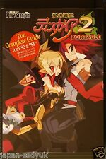 Disgaea 2 Cursed Memories Complete Guide for PS2 & PSP
