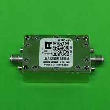 Low Noise Amplifier 0.85dB NF 5250M-5455MHz 39dB Gain 19dBm P1dB - 2 Stage