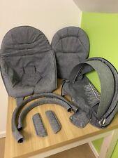 Textiles to fit Stokke Xplory, Trailz, Crusi Full Fabric Cover Set - Blue