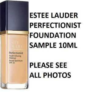 ESTEE LAUDER PERFECTIONIST YOUTH INFUSING SERUM MAKEUP FOUNDATION SAMPLE 10ML