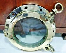 nautical new marine brass ship round 2 keys porthole 11kg