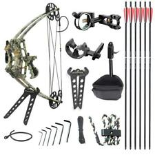 Junxing 50lb Left & Right Hand Magnesium Alloy Triangle Compound Bow Archery