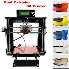 DIY Reprap Prusa Geeetech i3 Pro C 3D Stampante 3d Printer Dual Extruder MK8