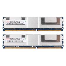 New Hynix 16GB Kit (2x 8GB) DDR2-667MHz Server Memory RAM PC2-5300F ECC FB-DIMM