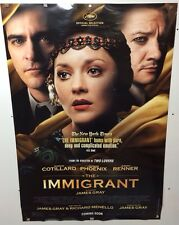 Original Movie Poster The Immigrant   Double Sided 27x40