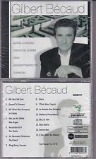 CD 15 TITRES GILBERT BECAUD BEST OF 2005 NEUF SCELLE IMPORT