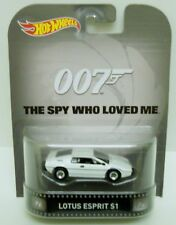 Hot Wheels  - 007 The Spy Who Loved Me Lotus Esprit S1                   Diecast