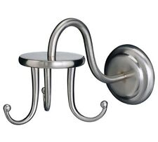 IKEA Lillholmen Triple (3) Hook Wall Hook Nickel Bathroom Entryway Clothes Towel