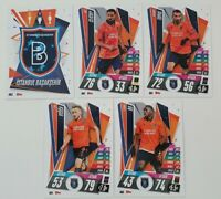 2020/21 Match Attax UEFA Europa League - Istanbul team set (5 cards)