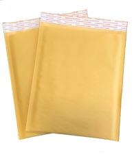 100 #3 8.5x14.5 Kraft Paper Padded Bubble Mailers Envelopes Bag 8.5
