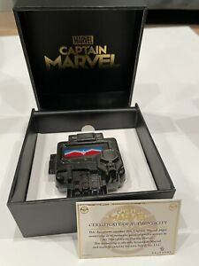 Captain Marvel Nick Fury Pager Money Clip SDCC 2019 ABC EXCLUSIVE Card Gift Box