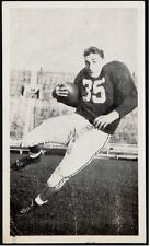 1954 Alan Ameche Post Card University of Wisconsin Pre ROOKIE Baltimore Colts