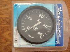 """TACHOMETER DIESEL 4000RPM MAGNETIC FLYWHEEL PICKUP 678-32803 4"""" FARIA GAUGE BOAT"""
