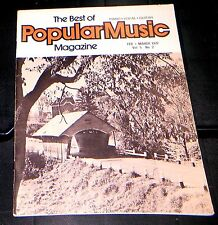 The Best Of Popular Music Magazine Feb-March 1977 Vol 5 No. 2 Piano-Vocal-Guitar