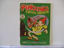 COMICS DELLA BRIGATA ALLEGRA  n.  20 del 1950  PINOCCHIO ...  ed. Nerbini
