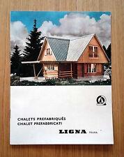 CHALET PREFABBRICATI - LIGNA PRAHA - 1968