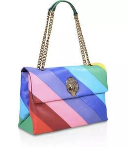 Kurt Geiger Rainbow Leather 🌈 Kensington Bag XXL