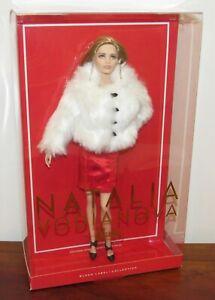 Natalia Vodianova Barbie Doll 2016 Black Label NRFB #CHX13