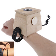 18mm/0.7' 1 hole Moxa Stick Roll Holder Healing Bamboo Mild Moxibustion Box EM