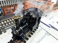 """Spur G - LGB """" Emma """" SOUND / DAMPF / LICHT /  analoge Dampflokomotive , nachger"""