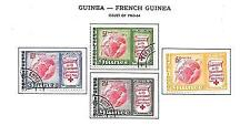 Used Red Cross French & Colonies Stamps