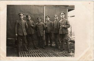 Foto AK Soldaten Ärmelabzeichen MG Scharfschützen 1917 Vogesen Frankreich 1.WK