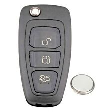 Ford Transit Connect S Max C-Max 3 Button Remote Key Fob Case Service Repair Kit
