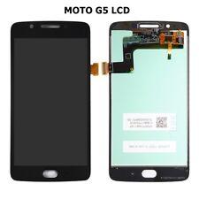 New Motorola Moto G5 XT1677 XT1670 Touch Digitizer LCD Screen Assembly Black