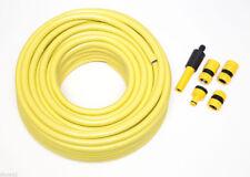tuyau de jardin jaune outil avec ganse Pro anti pli longueur 50m ID 12mm+