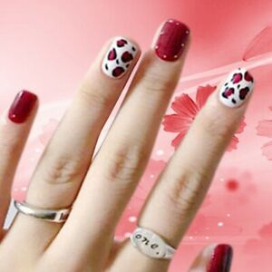 3D Nail Art Lace Stickers Decals Transfers Lace Strips Decoration Gel Polis New