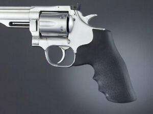 Hogue Dan Wesson Small Frame .357 Grip-Recoil Absorbing Rubber MonoGrip-57000