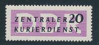 DDR Dienst 1956, Mi. 7 X II **, seltener Spitzenwert! Tadellos! Mi. 180,--!!