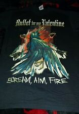 BULLET FOR MY VALENTINES T-SHIRT SIZE SMALL NEW/AXEWOUND/CANCER BATS/TRIVIUM