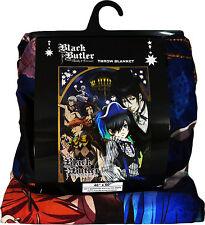 Black Butler Book of Circus Ciel Sebastian Sublimation Throw Blanket New
