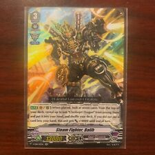 Cardfight Vanguard 4x Steam Fighter Balih RR Gear Chronicle IN HAND RTS NEW