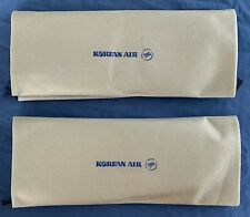 2 Pairs Of Gray Slippers New Korean Air Business Class Airlines Skyteam